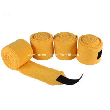 Colorful Good Quality Polar Fleece Bandage For Horse